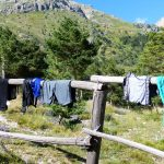 Why do wet clothes dry?